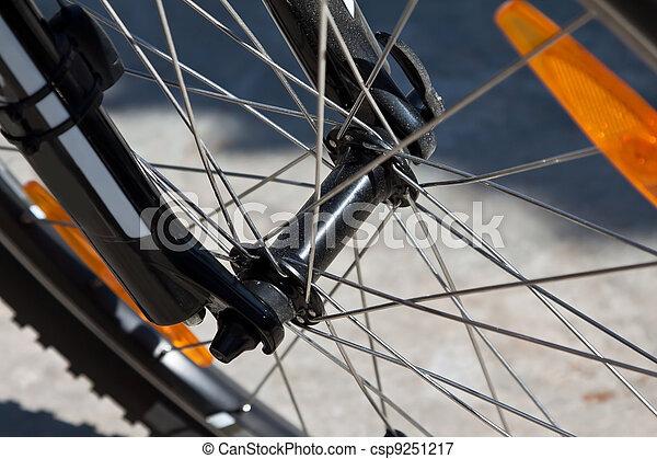 de fiets van de berg - csp9251217