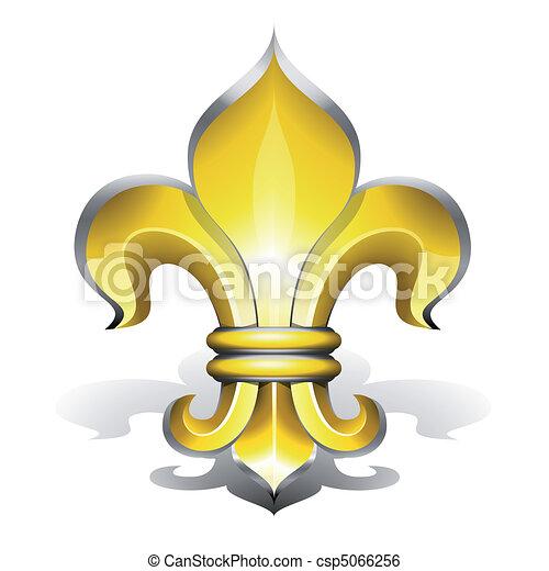 De Fleur Lys Antiquite Lys Symbole De Francais Fleur Redevance
