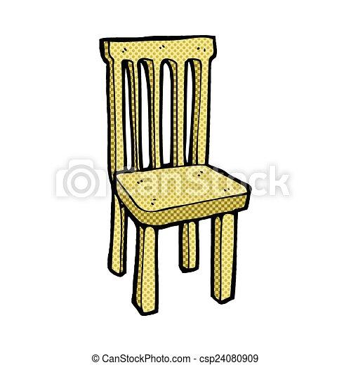 De madera c mico silla caricatura estilo de madera for Buscar sillas