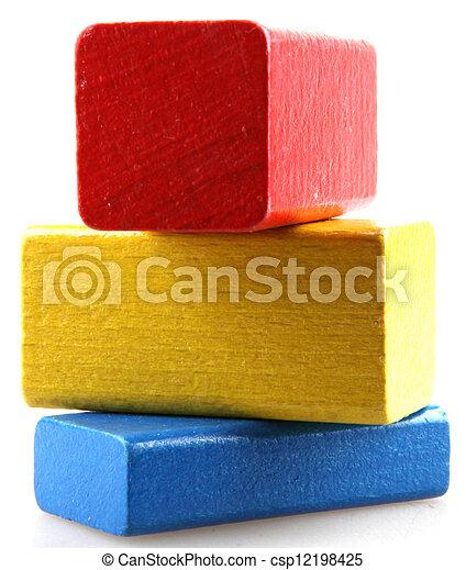 Construcciones Wooden - csp12198425
