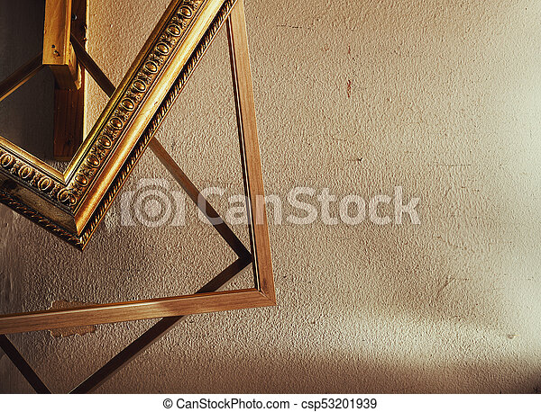 De madera, decorativo, marcos, cuadros. Decorativo, de madera ...