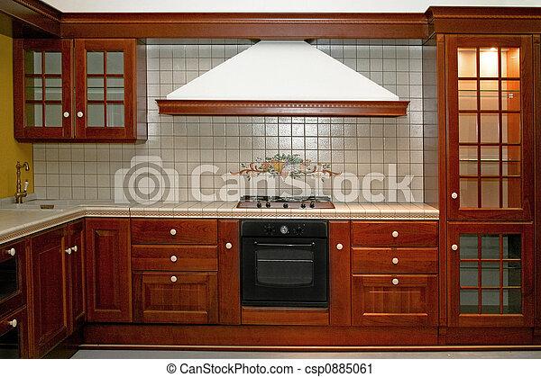 Estufa de madera - csp0885061