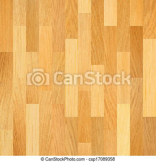 Piso de madera. Trasfondo de suelo del Parquet. - csp17089358