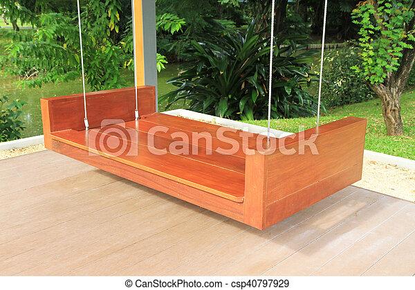 Columpio madera jardin cmo construir un juego de - Columpio madera jardin ...