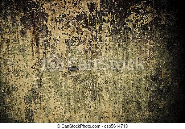 de madera, grunge, plano de fondo - csp5614713