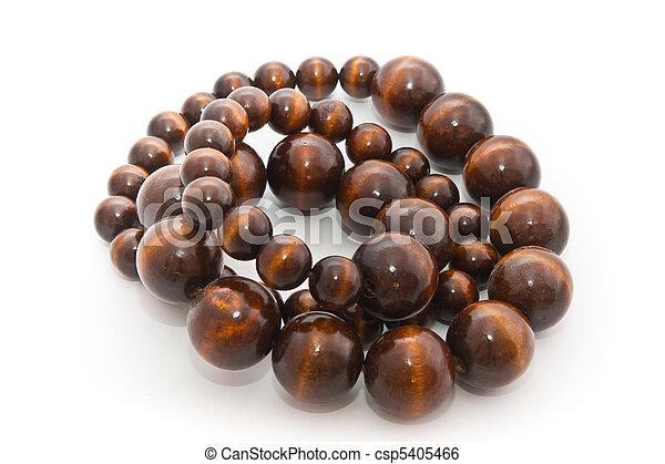 Manos de madera africanas - csp5405466