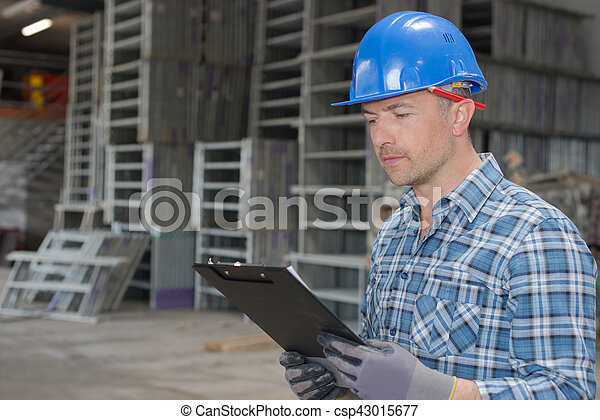 Tablas industriales de madera - csp43015677