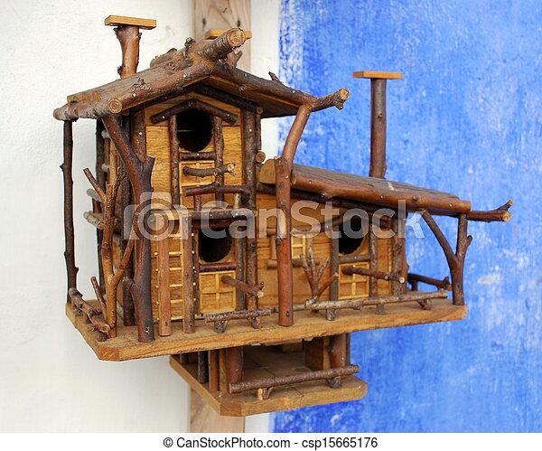 Jaula de madera - csp15665176