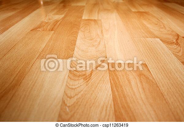 Piso laminado de madera - csp11263419