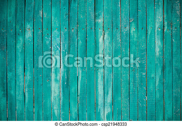 Planchas de madera verdes - csp21948333