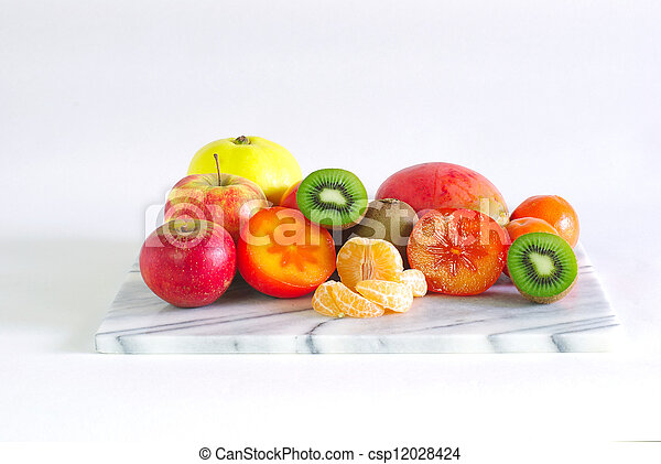 de schotel van het fruit - csp12028424
