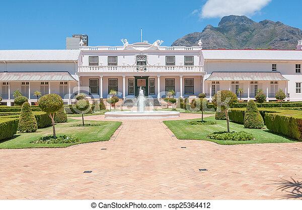 De Tuynhuys in Cape Town,  - csp25364412