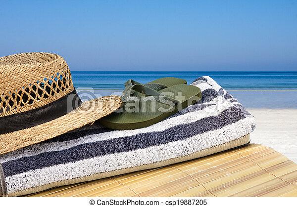 de zomervakantie - csp19887205