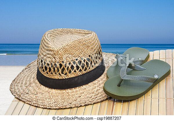 de zomervakantie - csp19887207