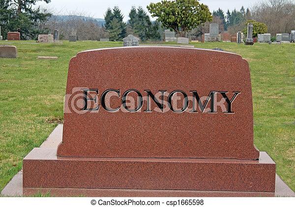 Dead Economy - csp1665598