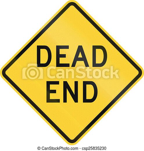 Dead End - csp25835230