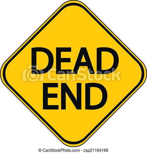 Dead End sign - csp21164166