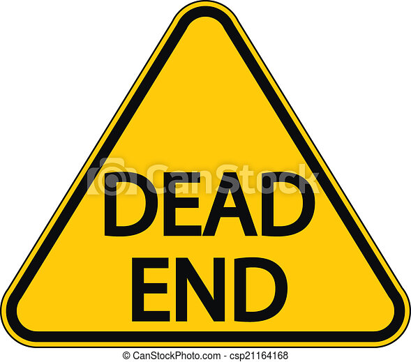 Dead End sign - csp21164168