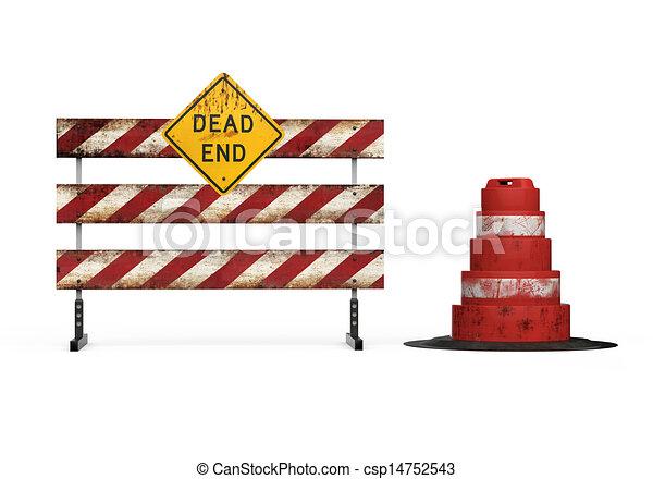 Dead End Sign - csp14752543