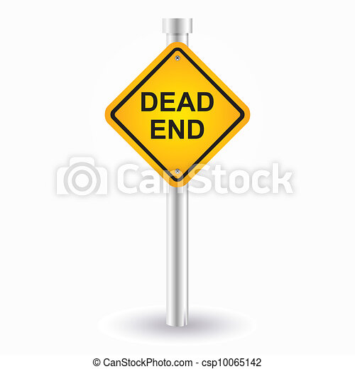 dead end sign - csp10065142
