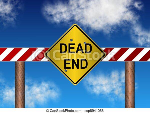dead end sign - csp8941066