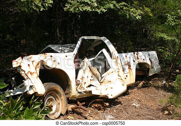 Dead truck - csp0005750