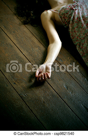 dead woman - csp9821540