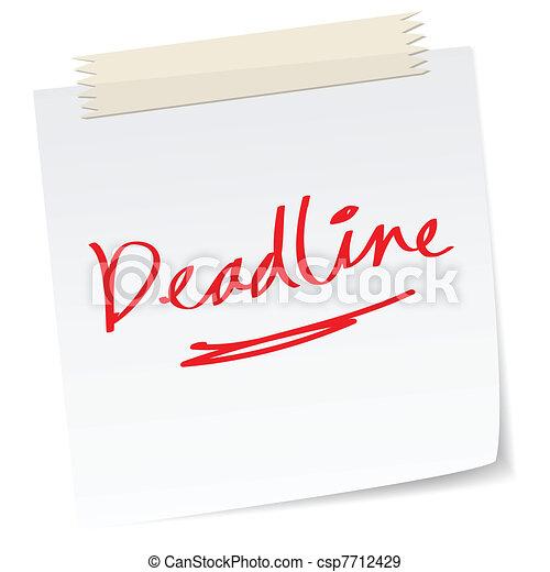 deadline - csp7712429