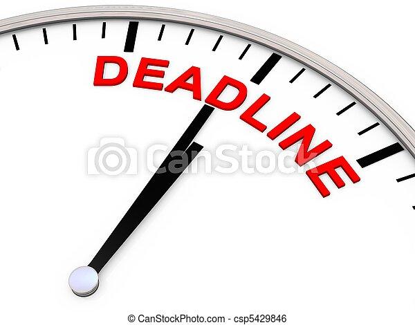 Deadline - csp5429846