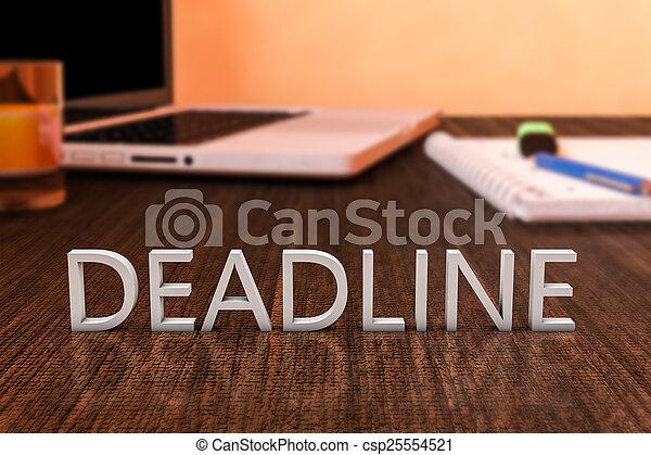 Deadline - csp25554521