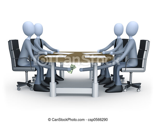 Deal Under The Table - csp0566290