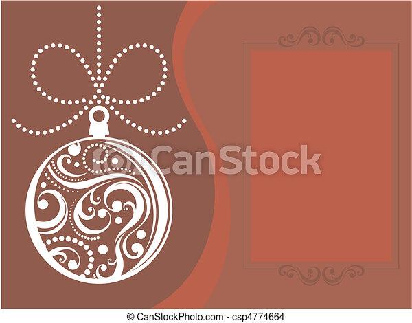 dear santa letter template - csp4774664
