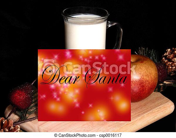 Dear Santa - csp0016117
