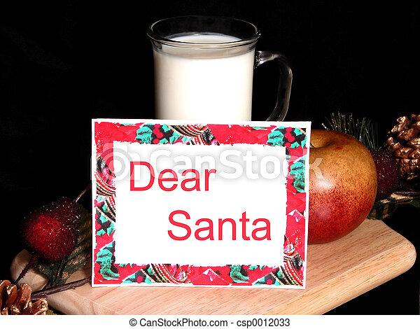 Dear Santa - csp0012033