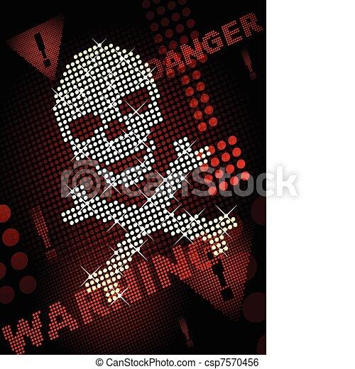 Death background - csp7570456