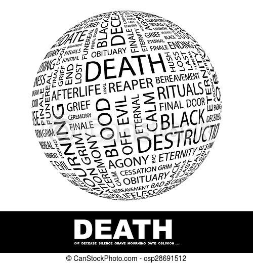 Muerte. - csp28691512