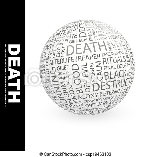 Muerte. - csp19463103