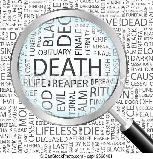 Muerte. - csp19568401
