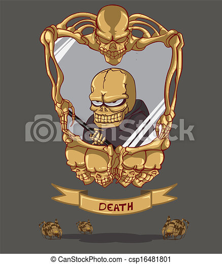 Muerte. Feliz Halloween - csp16481801