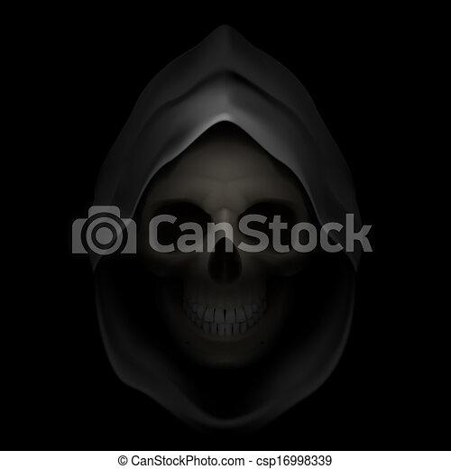 Death image. - csp16998339
