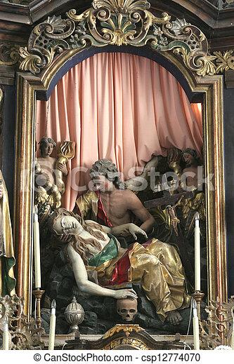 Death of Saint Mary Magdalene - csp12774070