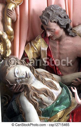 Death of Saint Mary Magdalene - csp12715465