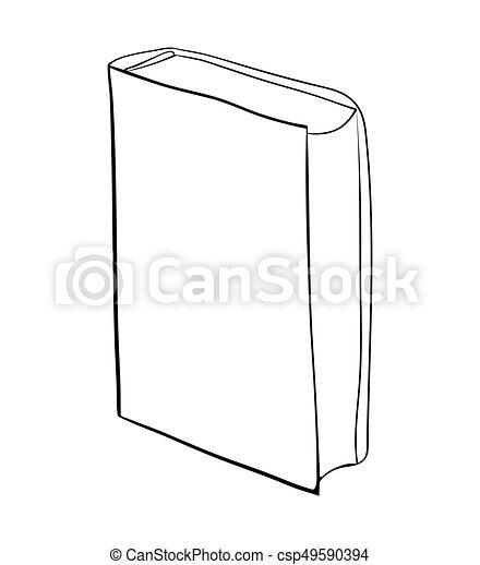 Debout Beau Ferme Symbole Isole Illustration Dessin Anime Vecteur Fond Blanc Icone Livre Design