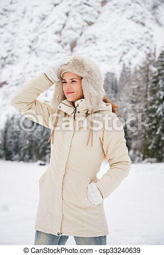 Manteau de montagne femme