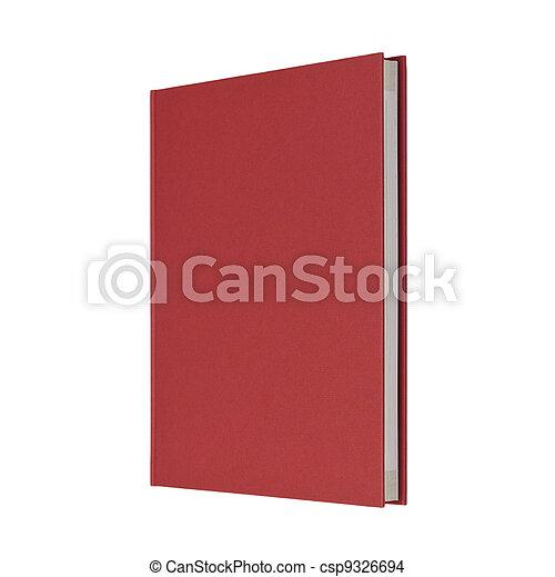 Debout Fond Livre Ferme Blanc Rouge