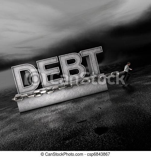 Debt: A Weight on Markets Going Forward - csp6843867