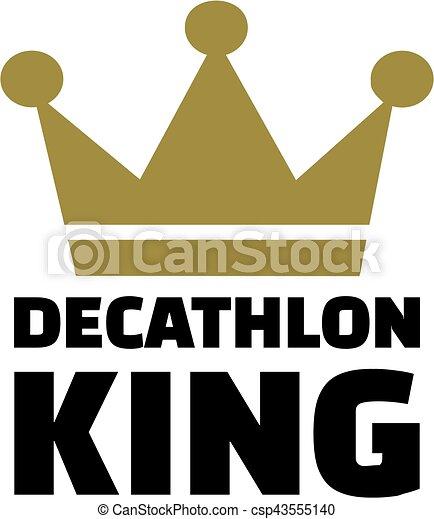 Decathlon king - csp43555140
