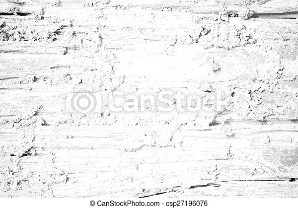 Decay wood texture Soft tone White color - csp27196076