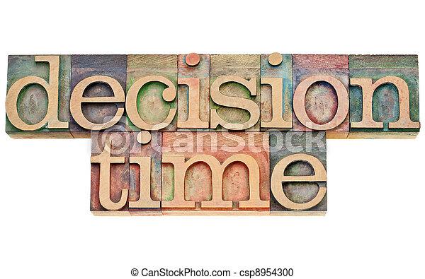 decision time - csp8954300
