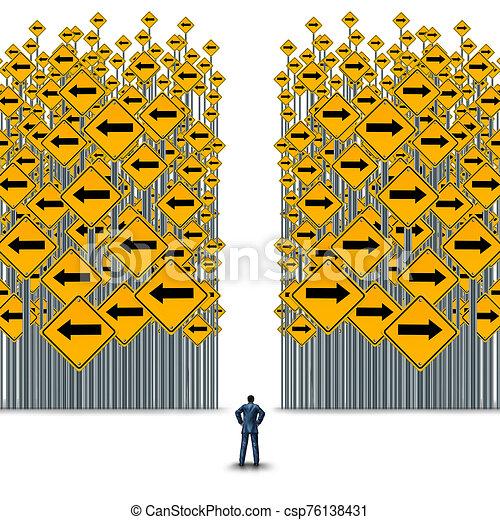 decisiones negocio - csp76138431